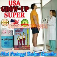 Jual Suppelemen peninggi Peninggi Badan Cepat Grow Up USA Vitamin Grow Up Super USA 085290001654 Pin Bbm : 235FFCCD