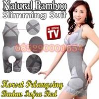 Jual Korset Pelangsing Baju Pelangsing Bamboo Slimming natural bamboo slimming suit 085290001654