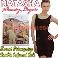 Jual Natasha Slimming Suit Baju Korset Pelangsing Slimming Suit Natasha original Baju diet slimming suit 085290001654