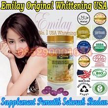 supplement pemutih pemutih wajah pemutih tubuh emilay whitening Emilay Whitening 085290001654 PIN BBM: 235FFCCD