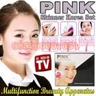 alat kecantikan Pembersih Wajah alat pemutih kulit alat penghilang komedo pink skinner beauty set 085290001654