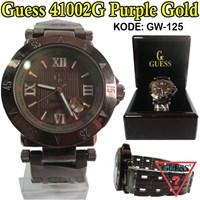 Toko Jam GUESS Jam Tangan Guess  jam tangan guess wanita Guess 41002 Purple Gold 085290001654 PIN BBM: 235FFCCD