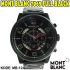 Jam Tangan Terbaru  Jam Tangan jam tangan montblanc Jam Tangan Mont Blanc 7069 Full Black 085290001654
