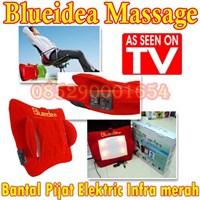 Blueidea Massage bantal teknik pijat shiatsu bantal pijat shiatsu bantal infra merah 085290001654 PIN BBM: 235FFCCD