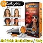 Instyler alat pengeriting rambut  Alat Insyler Rotating Iron Alat Catok Rambut Instyler 085290001654