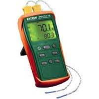 Extech Ea10  Easy View Dual Input Thermometer