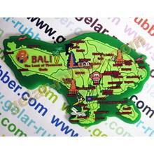 Magnet Karet Pulau Bali