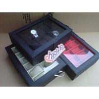 Jual Box Jam Tangan Isi 12 Kotak Tempat Jam