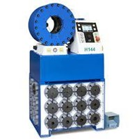 Hydraulic hose press machine
