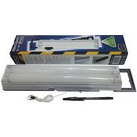 Jual Lampu Emergency LED Bentuk 2 Neon Pendek Merk Toyosaki Type EL-260