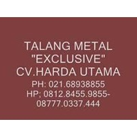 Jual Daftar Harga  Talang Air Hujan Atap Rumah Galvanis Metal Lindab