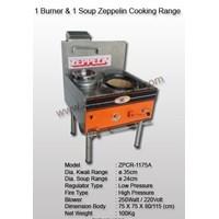 1 Burner & 1 Soup Zeppelin Cooking Range Model 2