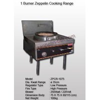 1 Burner Zeppelin Cooking Range