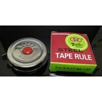 Pengukur Jarak Tape Rule SS Meteran Jengkol