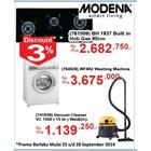 Jual Mesin Cuci Dan Vacuum Cleaner Modena