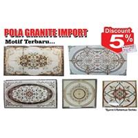 Jual Pola Granite Import Motif Terbaru