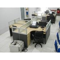 Meja Sekat Kantor Cubicle Table