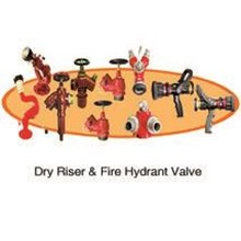 Fire Hydrant And Dry Riser Valve