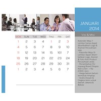 Jual Cetak Kalender