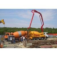 Harga Sewa Pompa Beton Concrete Pump Standart