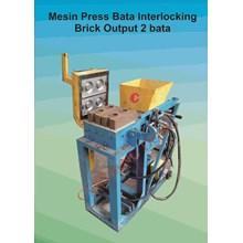 Mesin Bata Press Interlocking Output 2 Bata