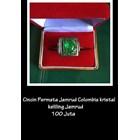 Crystalline Gem Colombian emerald ring emerald Roving