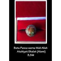 Batu Panca Warna Wali Allah Attahiyat Sholat (Alami)
