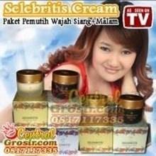 Selebritis Cream (Paket Pemutih Wajah Siang + Malam) 225ribu MURAH HARGA SUPPLIER 085781281999 PIN BBM 7D2905B1