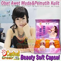 Beauty Soft Capsul (Obat Awet Muda&Pemutih Kulit) 130ribu MURAH HARGA SUPPLIER 085781281999 PIN BBM 7D2905B1
