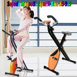 Alat Olahraga Sepeda Magnetic Lipat X-Bike KS-919 1100Juta MURAH HARGA SUPPLIER 085781281999 PIN BBM 7D2905B1