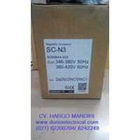 Jual MAGNETIC CONTACTOR SC-N3 Fuji Electric