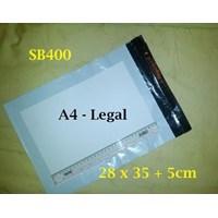 Sell Kemasan Layanan Amplop Plastik Polymailers Warna Putih - SB400