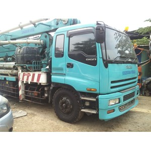 Sewa Truck Concrete Pump Merk IHI Japan Type Standart Boom s/d Super Long Boom By Viekontama Perkasa
