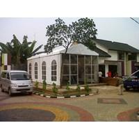 Tenda Roder Kantor Pemasaran 5X9x2m