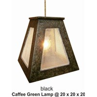 Aksesoris Lampu Caffee Green Lamp Black