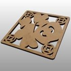 Laser Cutting Wood Type 9