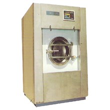 FULL AUTOMATIC WASHING S.S. & WATER EXTRACTOR MACHINE (WASHING WATER SQUEEZE &)