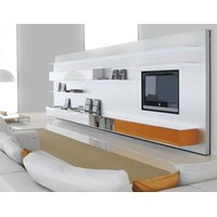 ElevenFive Wall Unit System with TV Mount Stand Photo