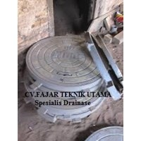 Jual MANHOLE COVER CAST IRON FC 250