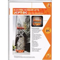 Scissor Lift JCPT with Battery.