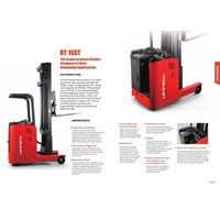 Jual Electric Reach Stacker For Rack with Battery.