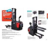 Sell Hand Lift electric stacker with battery.