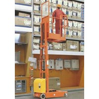 Electric Aerial Order Picker with battery.