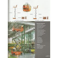 Electric Scissor lift JCPT 1412HD.