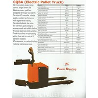 Jual Electric Pallet Truck.