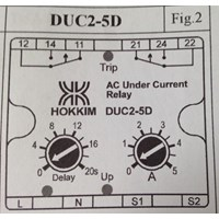 AC Current Detection Relay