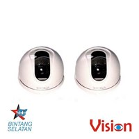 Sell Kamera CCTV Paket 2 Pcs Dome Indoor Cmos 500 TVL  Vision CD 578