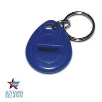 Jual RFID Tag ZK Software Keychain (Biru)  Aksesoris Access Control