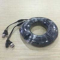 Jual Kabel Untuk CCTV Kamera Panjang 25 M Dilengkapi Dengan BNC +  DC Power