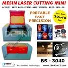 Mesin Laser Cutting Otomatis Mini Bs 4030